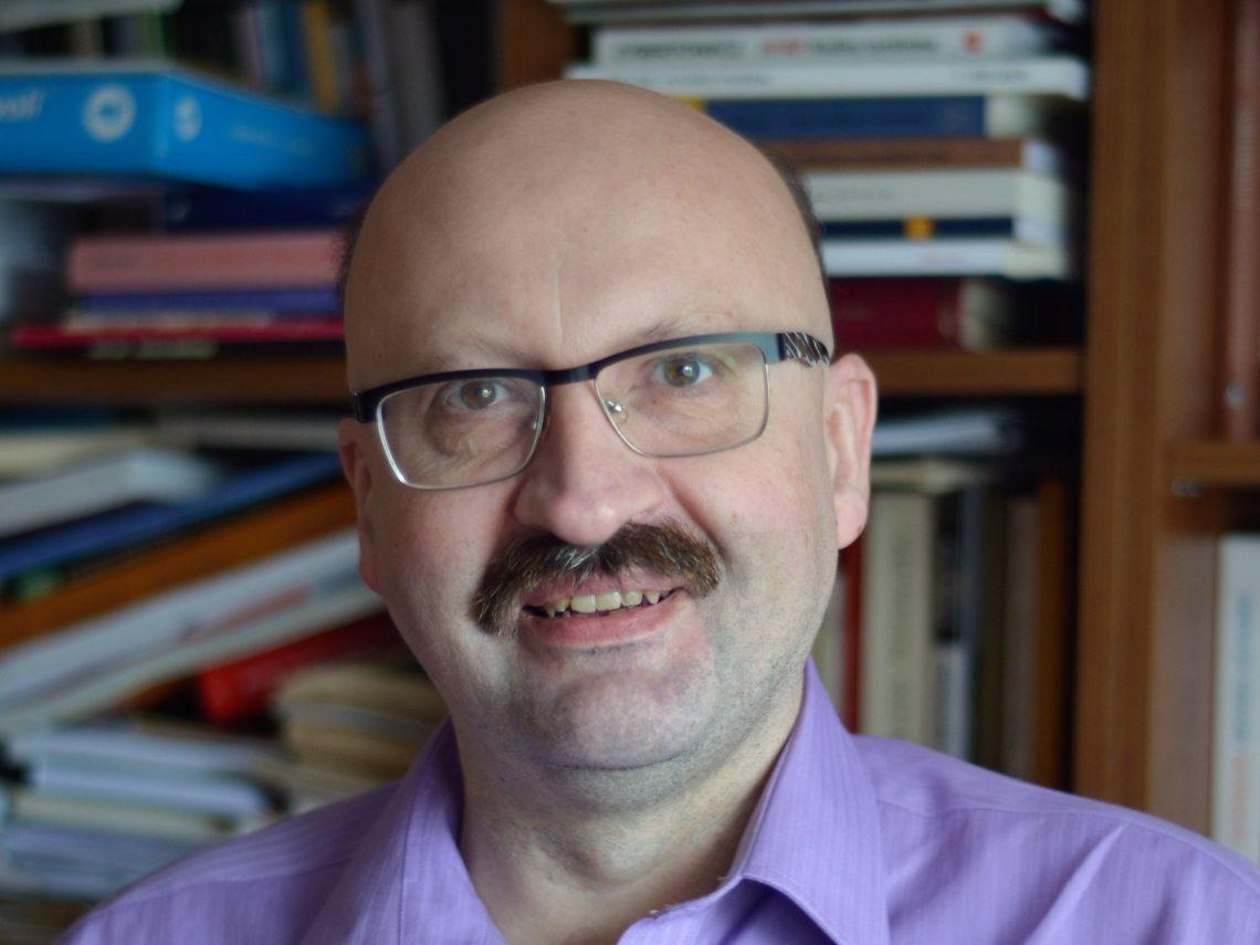 Prof. Krzysztof Brzechczyn. Autor zdjęcia: Jerzy Sokołowski