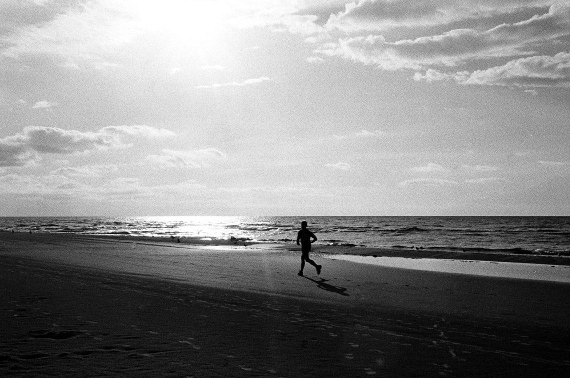 """""""Biegnę, więc jestem"""". Interpretacja treści prywatnego pamiętnika Harukiego Murakamiego w świetle somaestetyki Richarda Shustermana. Autor zdjęcia: Roman Drits"""