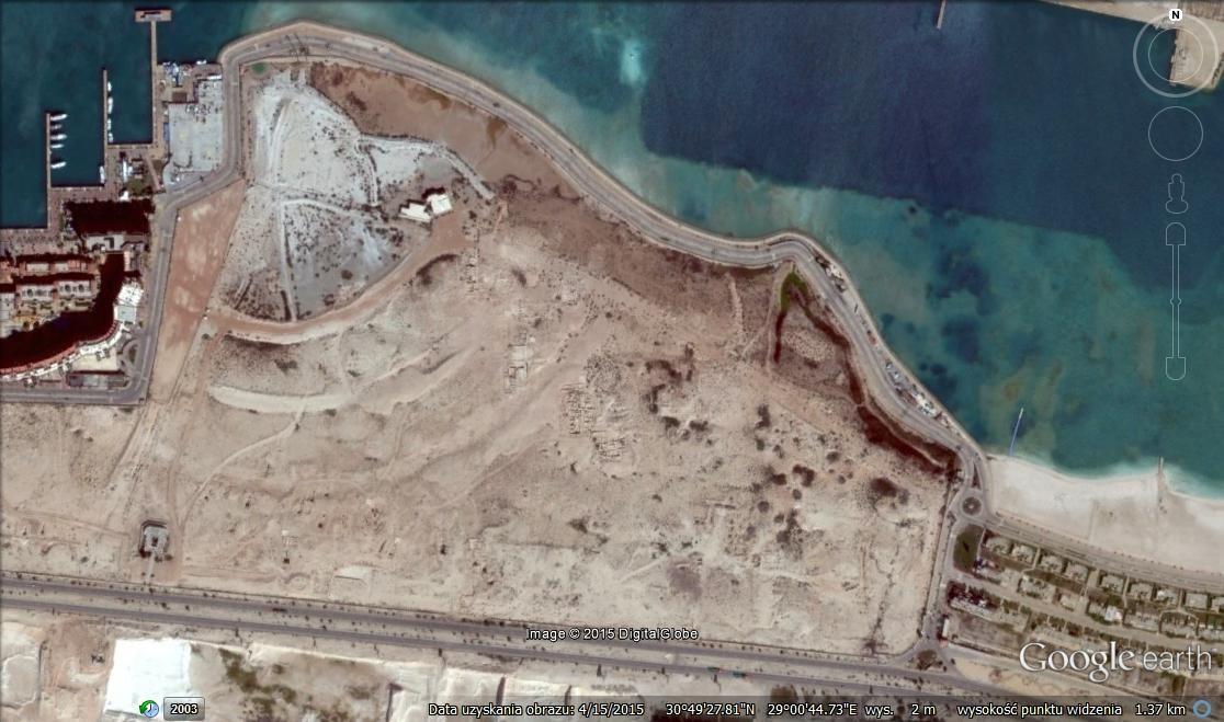 Marina el-Alamein: miasto portowe grecko-rzymskiego Egiptu