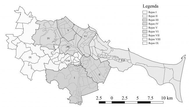 Wybrane rodzaje przestępczości w przestrzeni Gdańska w latach 2013–2015